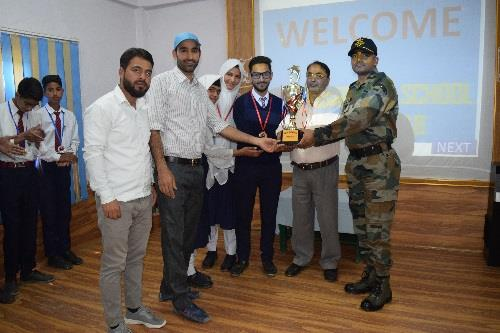 Inter AGS Quiz Competition at AGS Krusan on 30 May 19