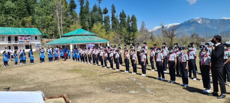 Raising of Scouts and Guides