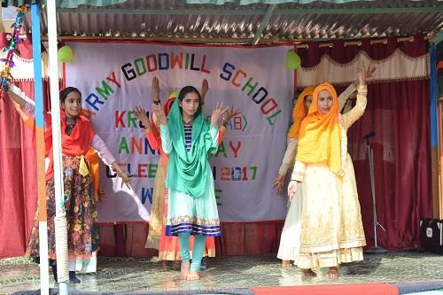 Celebration of Annual Day at AGS, Krusan on 09 Nov 2018