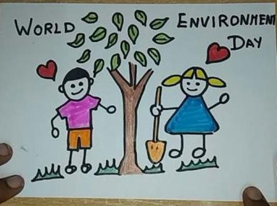 Celebration of World environment Day on 05 Jun 20